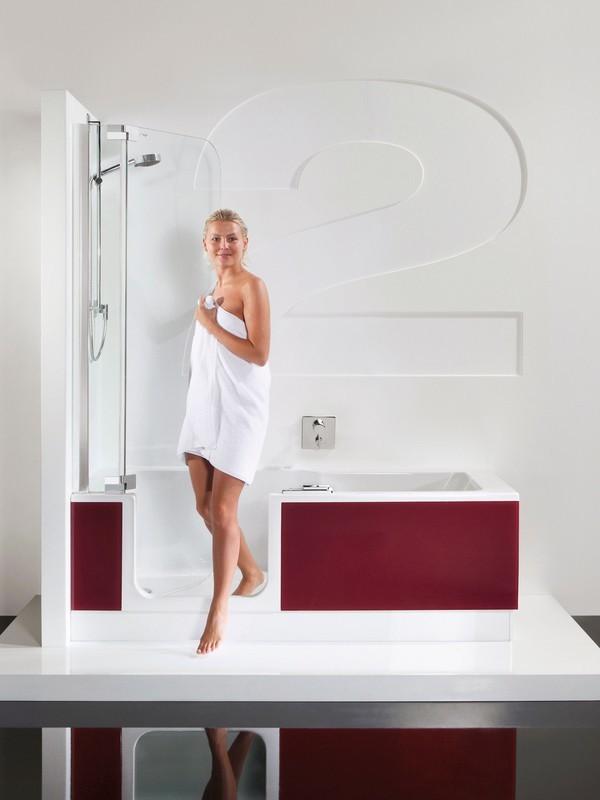 Badewanne mit duschzone komplett  Badewanne Mit Duschzone ~ Home Design Inspiration