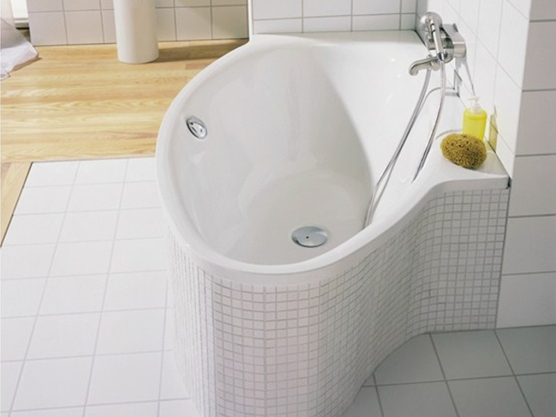 bette pool i oval badewanne f r eckeinbau. Black Bedroom Furniture Sets. Home Design Ideas