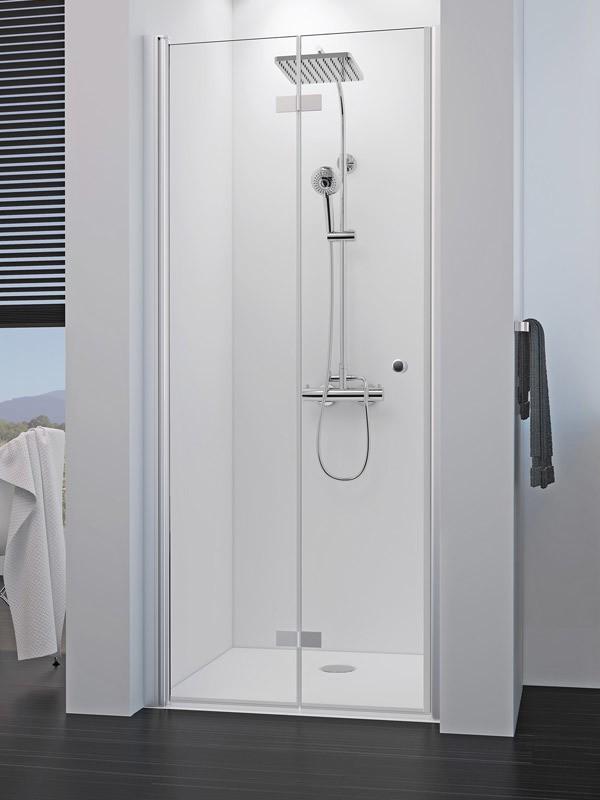 breuer elana 8 duscht r nische pendel faltt r. Black Bedroom Furniture Sets. Home Design Ideas