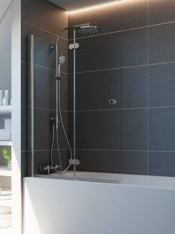 breuer elana komfort badewannenaufsatz 2 teilig. Black Bedroom Furniture Sets. Home Design Ideas
