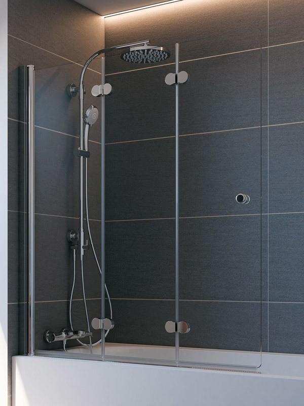 breuer elana komfort badewannenaufsatz 3 teilig. Black Bedroom Furniture Sets. Home Design Ideas