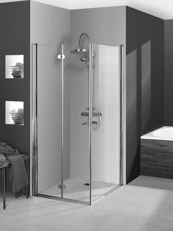 breuer elana komfort duschkabine eckeinstieg faltt r. Black Bedroom Furniture Sets. Home Design Ideas
