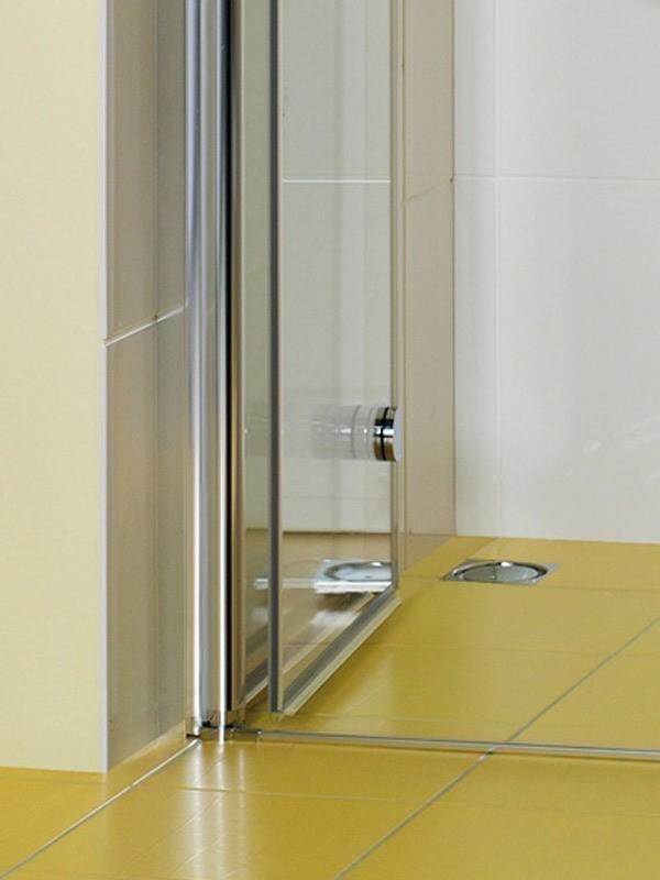 breuer elana komfort duschkabine eckeinstieg pendel faltt ren. Black Bedroom Furniture Sets. Home Design Ideas