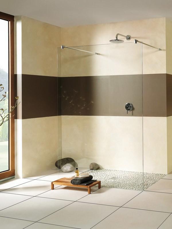 breuer entra walk in duschwand freistehend. Black Bedroom Furniture Sets. Home Design Ideas