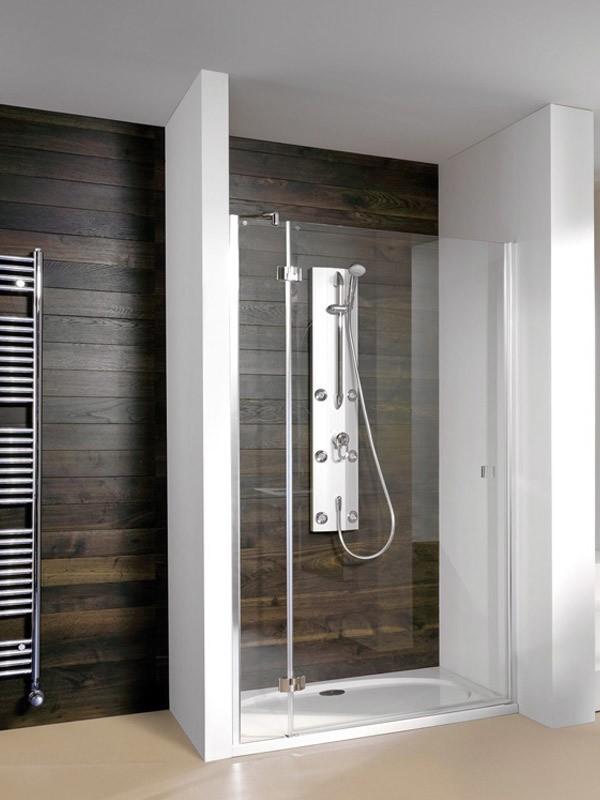 breuer espira duscht r nische mit festfeld. Black Bedroom Furniture Sets. Home Design Ideas