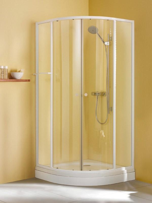 breuer fara ibiza duschkabine runddusche mit schiebet ren 2 teilig baddepot. Black Bedroom Furniture Sets. Home Design Ideas
