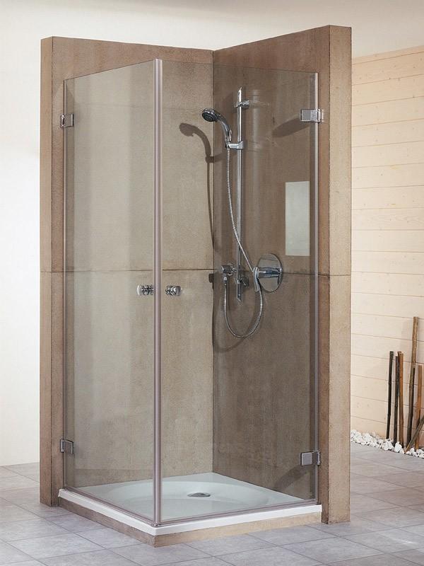 breuer first glass duschkabine eckeinstieg pendelt r. Black Bedroom Furniture Sets. Home Design Ideas
