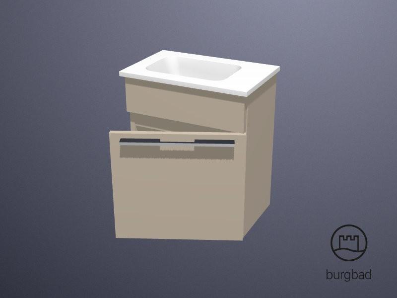 Burgbad Bel Handwaschbecken mit Waschtischunterschrank   BadDepot.de