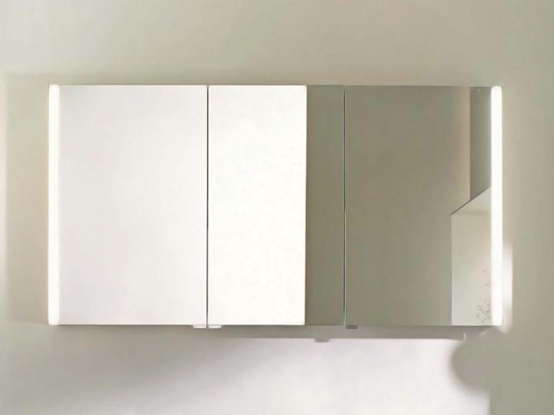burgbad bel spiegelschrank led vertikal. Black Bedroom Furniture Sets. Home Design Ideas
