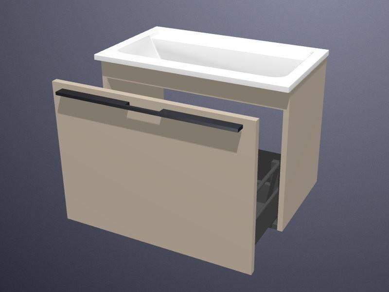 Burgbad Bel Waschtisch mit Waschtischunterschrank M   BadDepot.de
