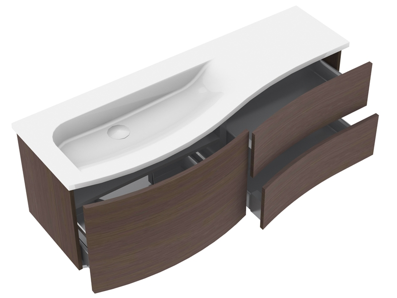 burgbad sinea 1 0 badm bel set 1410 mm. Black Bedroom Furniture Sets. Home Design Ideas