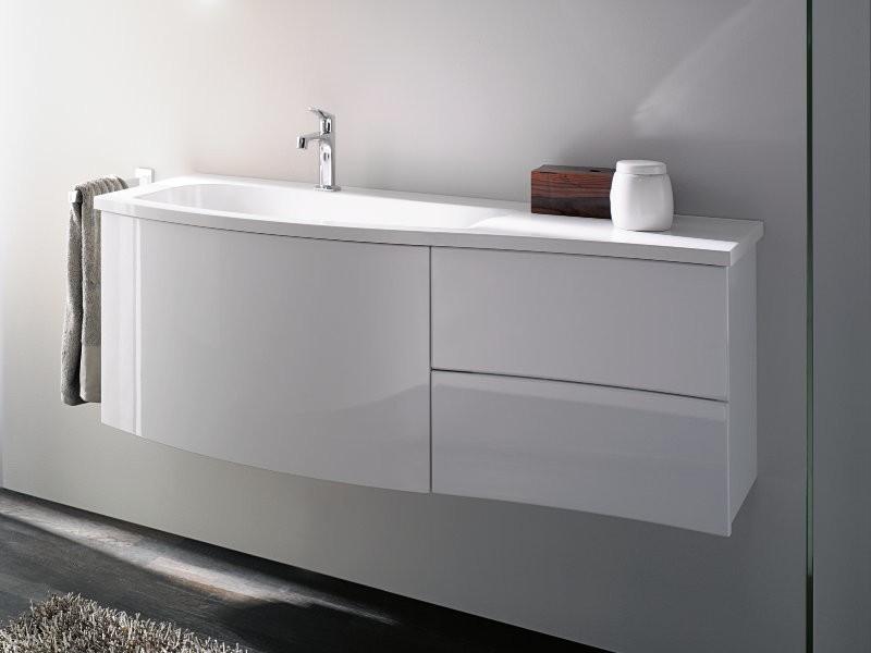 burgbad sinea 1 0 waschtisch waschtischunterschrank mit drei ausz gen. Black Bedroom Furniture Sets. Home Design Ideas