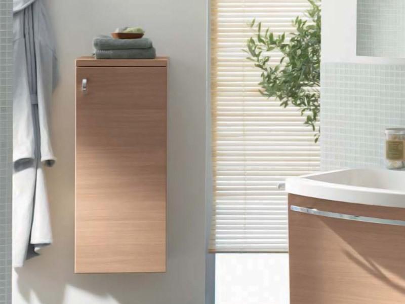 burgbad sinea 1 0 halbhoher schrank mit einer t r. Black Bedroom Furniture Sets. Home Design Ideas