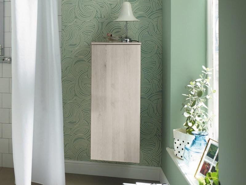 burgbad sinea 2 0 halbhoher schrank mit einer t r und einem auszug. Black Bedroom Furniture Sets. Home Design Ideas