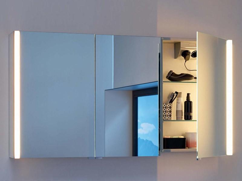 Favorit Burgbad Spiegelschrank LED Beleuchtung vertikal (Sys30, Bel TX84