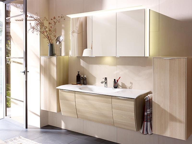 burgbad spiegelschrank led sys30 cala 2 0. Black Bedroom Furniture Sets. Home Design Ideas