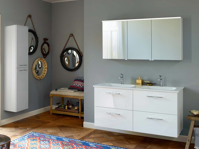 burgbad spiegelschrank mit led beleuchtung sys 30 teno. Black Bedroom Furniture Sets. Home Design Ideas