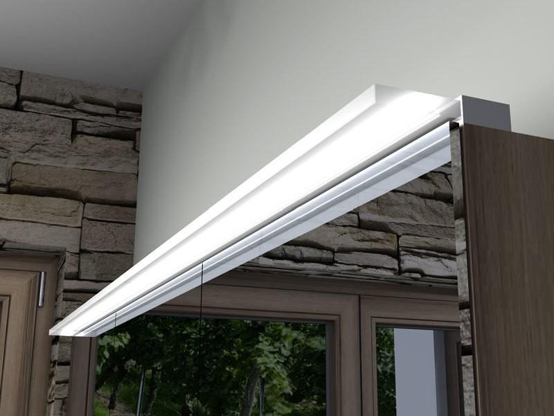 burgbad sys30 led aufsatzleuchte horizonta f r burgbad spiegel spiegelschrank massflexibel. Black Bedroom Furniture Sets. Home Design Ideas