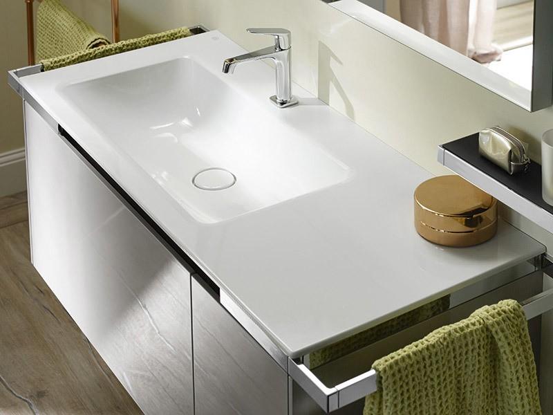 burgbad yso waschtisch mit waschtischunterschrank eckig. Black Bedroom Furniture Sets. Home Design Ideas