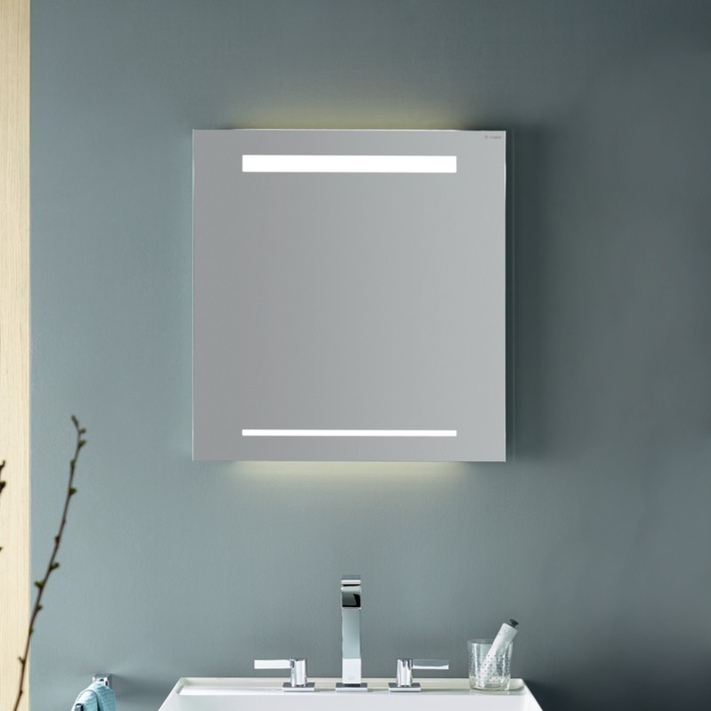 burgbad yumo spiegel led beleuchtung horizontal. Black Bedroom Furniture Sets. Home Design Ideas