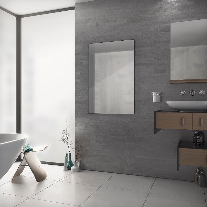 corpotherma infrarot heizpaneel verspiegelt rahmenlos. Black Bedroom Furniture Sets. Home Design Ideas
