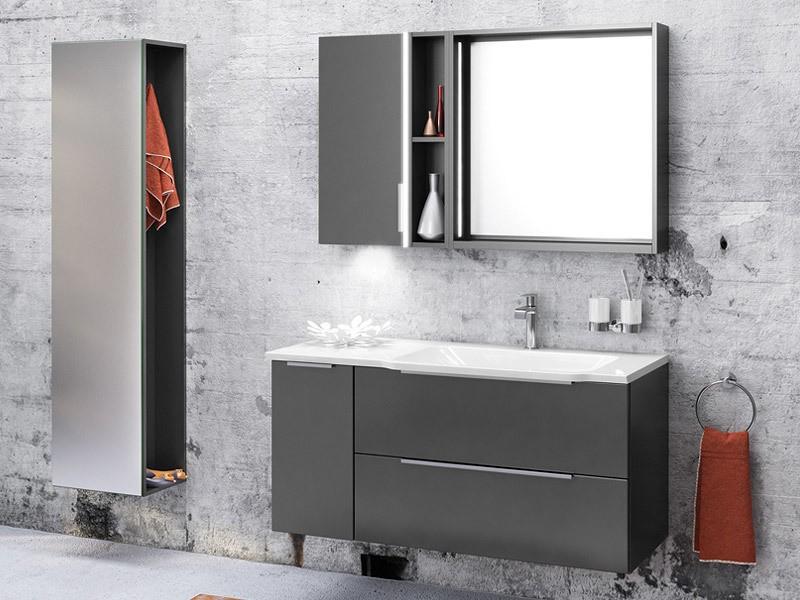 creativbad badspiegel mit led rahmen. Black Bedroom Furniture Sets. Home Design Ideas