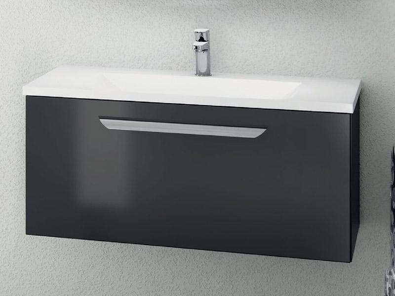 creativbad waschtisch mit waschtischunterschrank 1auszug. Black Bedroom Furniture Sets. Home Design Ideas
