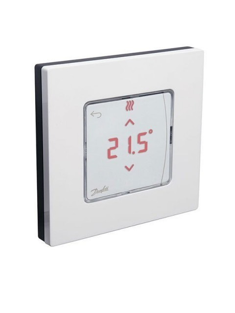 Danfoss Icon 24V Funk-Raumthermostat mit Display Aufputz