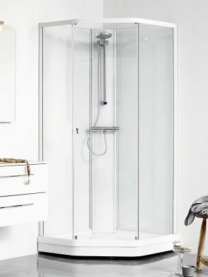 dansani uniq f nfeck komplett duschkabine schiebet r u4202. Black Bedroom Furniture Sets. Home Design Ideas