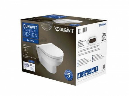 Duravit DuraStyle Wand-WC Basic Combi-Pack