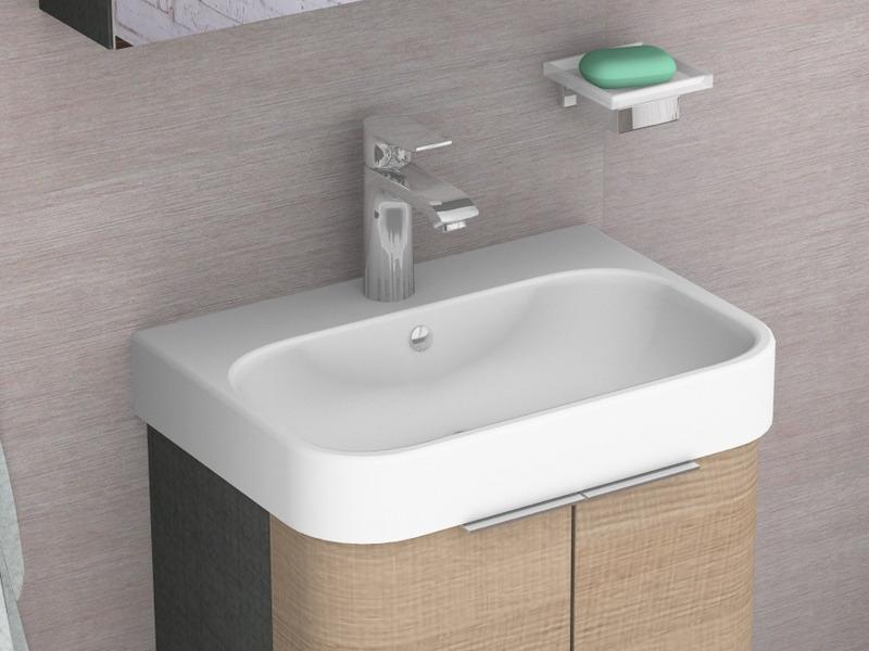 duravit happy d 2 m bel handwaschbecken. Black Bedroom Furniture Sets. Home Design Ideas