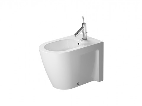 Duravit Starck 2 Stand-Bidet back to wall