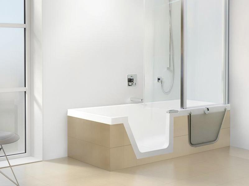 Duscholux Step-In Pure Badewanne mit Tür | BadDepot.de