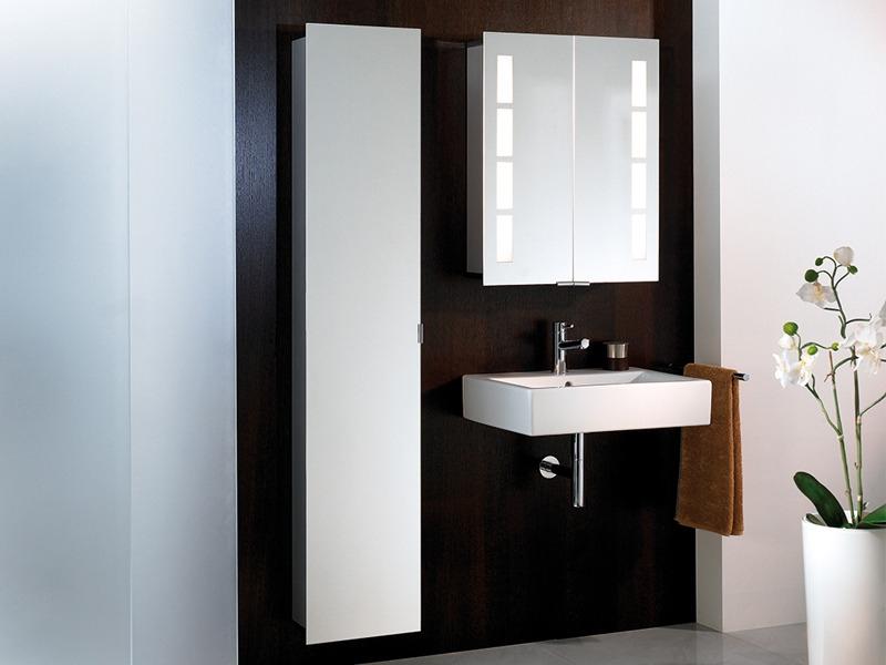 hsk asp 500 alu spiegelschrank 600 x 750mm. Black Bedroom Furniture Sets. Home Design Ideas