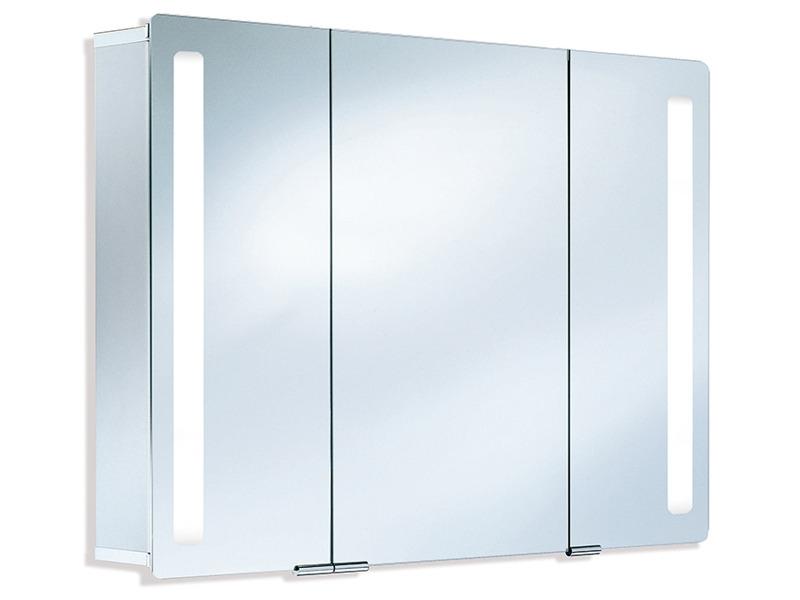hsk asp softcube alu spiegelschrank 3 t rig. Black Bedroom Furniture Sets. Home Design Ideas