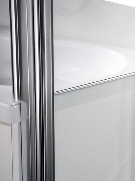 hsk exklusiv eck duschkabine mit pendelt r mit seitenwand. Black Bedroom Furniture Sets. Home Design Ideas