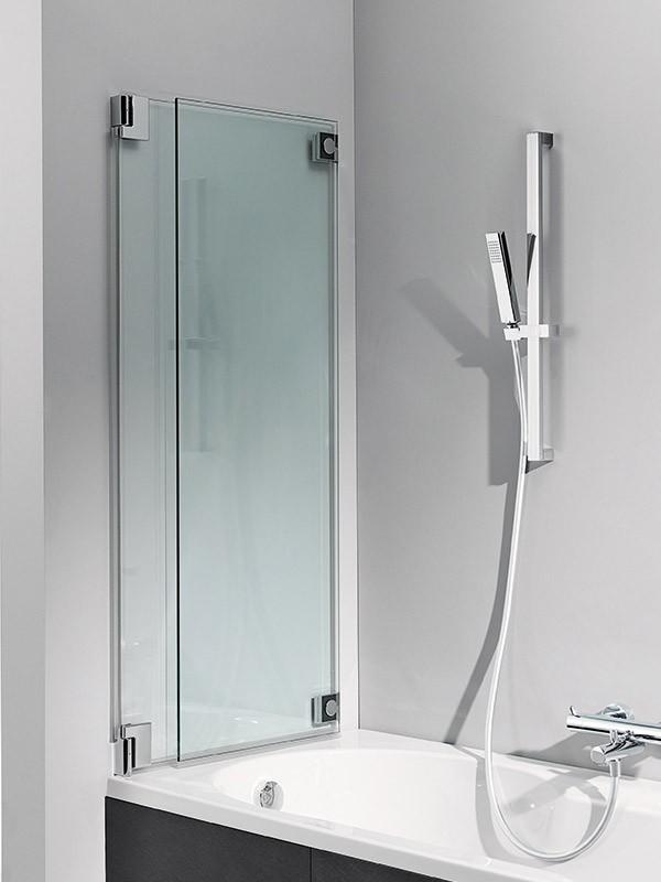 hsk k2 badewannenaufsatz mit zwei beweglichen elementen. Black Bedroom Furniture Sets. Home Design Ideas
