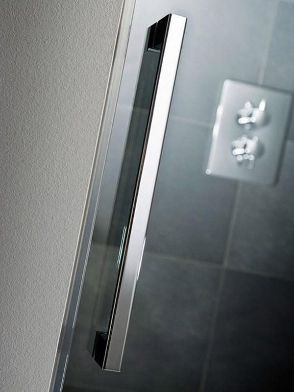 hsk k2 eckeinstieg duschkabine mit gleitt ren 2 teilig. Black Bedroom Furniture Sets. Home Design Ideas
