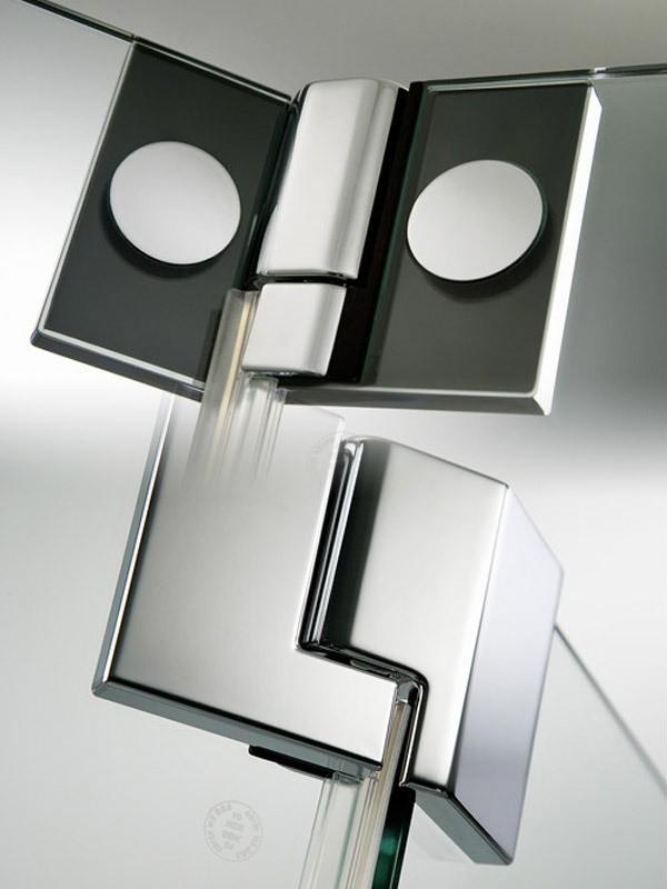 hsk k2p eck duschkabine mit dreht r und seitenwand. Black Bedroom Furniture Sets. Home Design Ideas