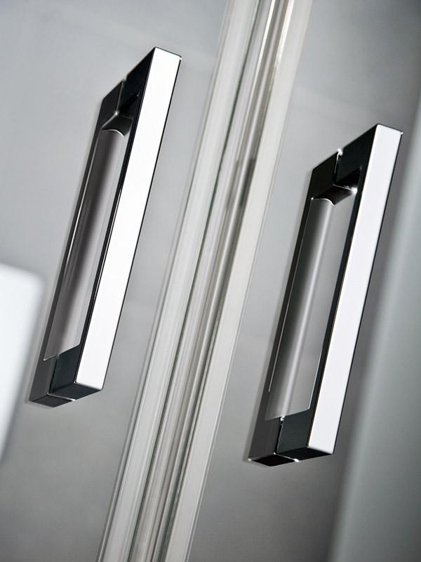hsk k2p eckeinstieg duschkabine mit pendelt ren und festfeldern. Black Bedroom Furniture Sets. Home Design Ideas