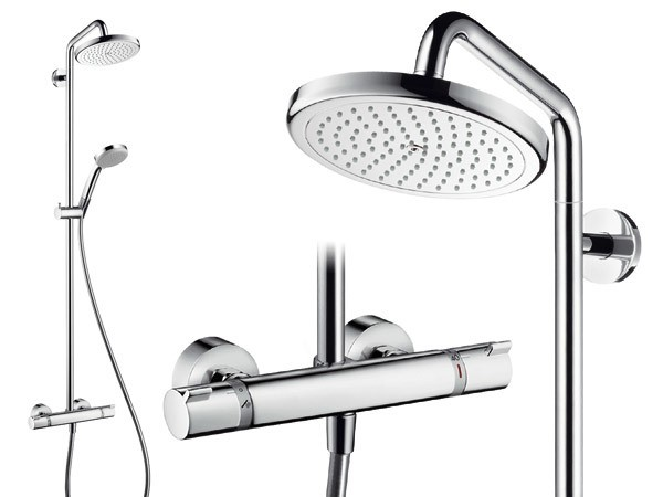 hansgrohe croma 220 air 1jet showerpipe. Black Bedroom Furniture Sets. Home Design Ideas
