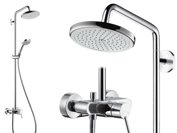 hansgrohe croma 220 air 1jet showerpipe mit. Black Bedroom Furniture Sets. Home Design Ideas