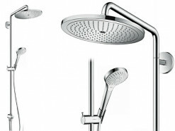 Hansgrohe Croma Select 280 Air 1jet Showerpipe Reno