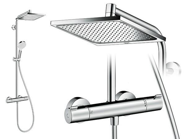 hansgrohe crometta e 240 1jet showerpipe. Black Bedroom Furniture Sets. Home Design Ideas
