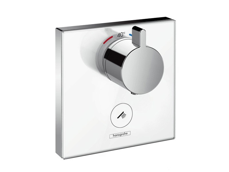 hansgrohe showerselect glas thermostat highflow unterputz. Black Bedroom Furniture Sets. Home Design Ideas