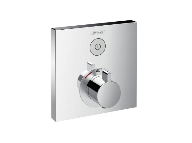 hansgrohe showerselect thermostat unterputz f r 1 verbraucher. Black Bedroom Furniture Sets. Home Design Ideas