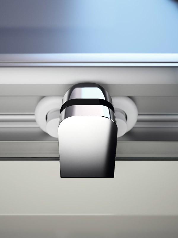 h ppe alpha 2 duschkabine gleitt r 2 teilig. Black Bedroom Furniture Sets. Home Design Ideas