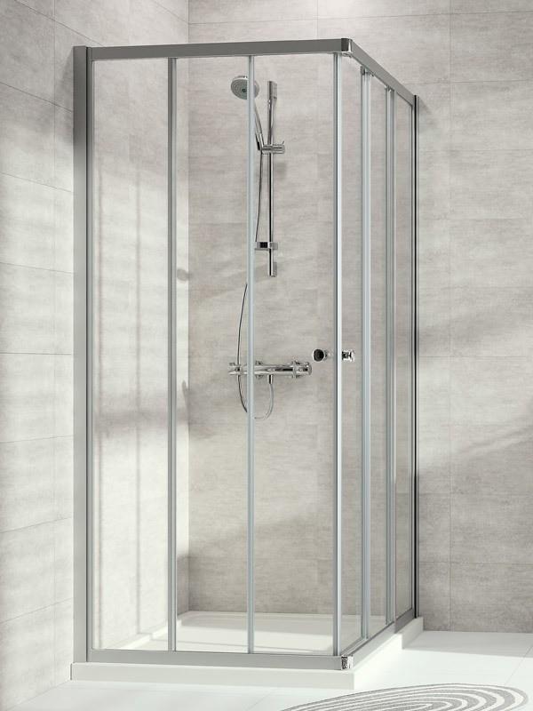 h ppe alpha 2 eckeinstieg duschkabine gleitt r 3 teilig. Black Bedroom Furniture Sets. Home Design Ideas