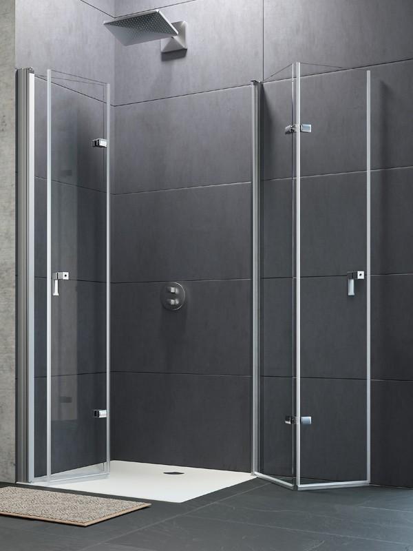 h ppe design pure duschkabine schwingfaltt r. Black Bedroom Furniture Sets. Home Design Ideas