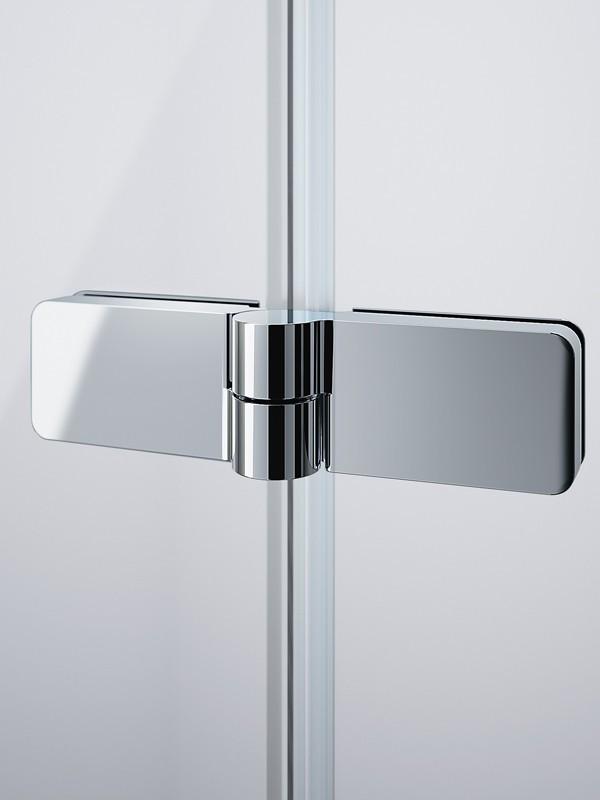 h ppe design pure schwingfaltt r f r badewanne 2 teilig. Black Bedroom Furniture Sets. Home Design Ideas